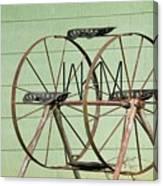 Bubbas  Fairs Wheel Canvas Print