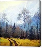 Bubber's Trail Canvas Print