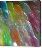 Bubble Fall Canvas Print