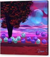 Bubble Garden Canvas Print