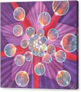 Bubble Glory Canvas Print