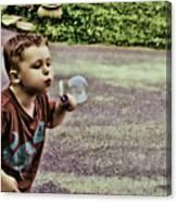 Bubble Liscious Canvas Print