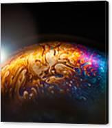 Bubble Planet I  Canvas Print