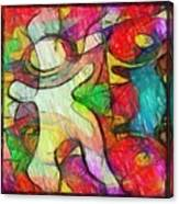 Bubbleclub Canvas Print