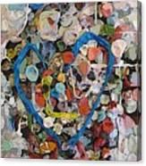 Bubblegum Love Canvas Print