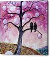 Bubbletree Canvas Print