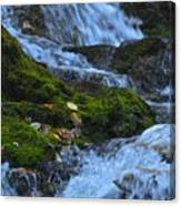 Bubbling Waterfall Canvas Print