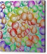 Bubbly Bubbles 2 Canvas Print