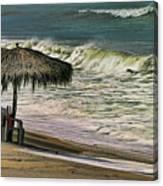 Bucerias Beach Mexico  Canvas Print