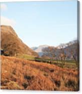 Buckbarrow Crag Canvas Print