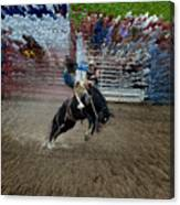 Bucking Bronco Canvas Print