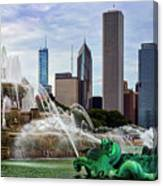 Buckingham Fountain Canvas Print
