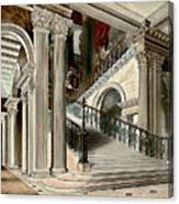 Buckingham House Stair Case Canvas Print