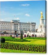 Buckingham Palace Sunny Day Canvas Print
