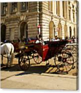 Vienna Buggy Man Canvas Print