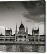 Budapest Parliament Canvas Print