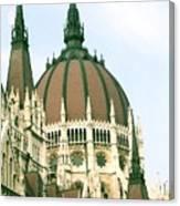 Budapest Parliment Canvas Print
