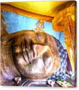 Budda Sleep Canvas Print