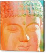 Buddah Glow Canvas Print