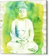 Buddha By Raphael Terra Canvas Print