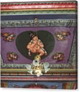 Buddha Ceiling Canvas Print
