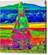 Buddha Dreaming Canvas Print
