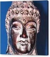 Buddha Head 1 Canvas Print