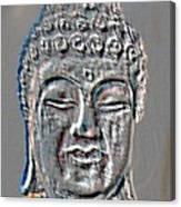 Buddha Head 3 Canvas Print