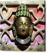 Buddha - Heavy Metal Canvas Print