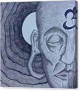 Buddha In Ink Canvas Print
