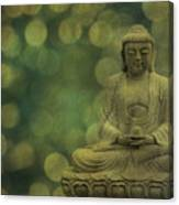 Buddha Light Gold Canvas Print