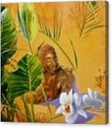 Buddha Sculp Canvas Print
