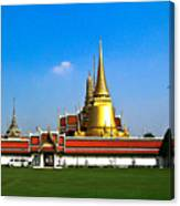 Buddhaist Temple Canvas Print