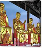 Buddhas Delight - Representations Of Buddhism Canvas Print