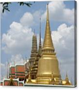 Buddhist Chedi - Bangkok Canvas Print