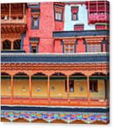 Buddhist Monastery Building Canvas Print
