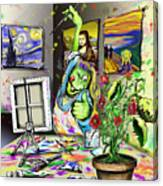 Budding Artist Canvas Print