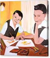 Budding Artists Canvas Print