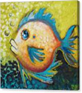 Buddy Fish Canvas Print