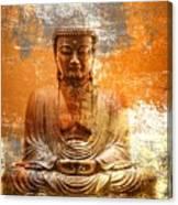 Budha Textures Canvas Print