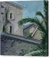Budva Old Town Canvas Print