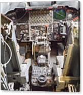 Buff Cockpit Canvas Print