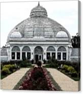 Buffalo And Erie County Botanical Gardens Ink Sketch Effect Canvas Print