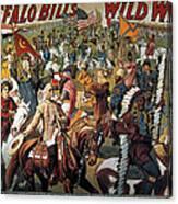 Buffalo Bill: Poster, 1908 Canvas Print