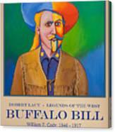 Buffalo Bill Poster Canvas Print