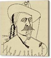 Buffalo Bill's Wild West - American History Canvas Print