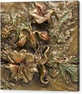Buffalo Burr Flower Canvas Print