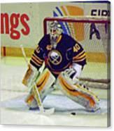 Buffalo Goalie  Canvas Print