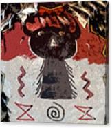 Buffalo Man Canvas Print