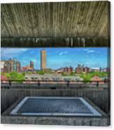 Buffalo New York Window Canvas Print